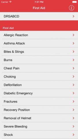 St John First Aid app