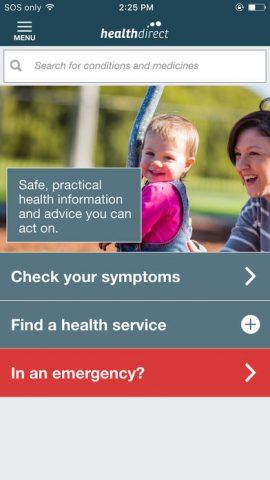 Health Direct app